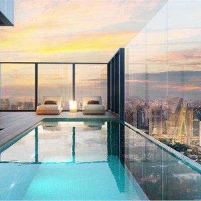 Terraço da Cobertura Duplex de 442m²