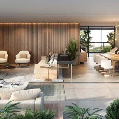 Living e Terraço do Apartamento de 265m²